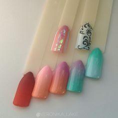 #gradient #sweetnails