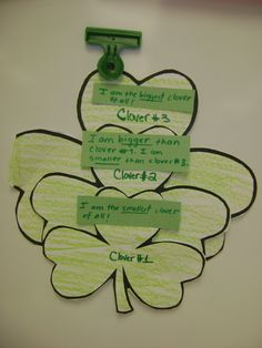 Linking Comparative & Superlative adjectives with St. Paddy's :)