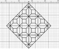 grille point de croix BLACKWORK - les loisirs abbygaelle