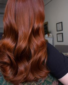 Shaggy Blonde Waves - 40 Picture-Perfect Hairstyles for Long Thin Hair - The Trending Hairstyle Hair Color Auburn, Auburn Hair, Red Hair Color, Red Hair Inspo, Red Hair Looks, Ginger Hair Color, Long Thin Hair, Nagellack Trends, Gorgeous Hair