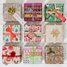 Make your gifts look great under the tree with our selection of Christmas wrapping paper ideas, from classic Kraft gift wrap to luxurious ribbons and bows for the perfect finish.