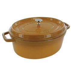 Staub Oval Cocotte, 7QT, Saffron - got the round need the oval