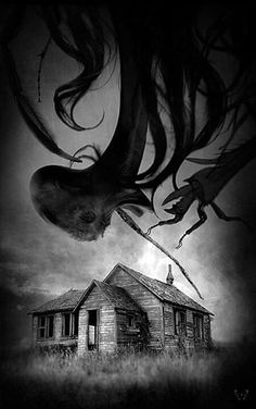 The Darkness Consuming The House In Middle Of Nowhere.