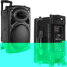 Altavoz Portátil de Ruedas Con Karaoke Radio MicroSD  y USB De 100W modelo 10339 - Además de una excepcional calidad de sonido, este sistema portátil ofrece importantes características como una batería recargable (incluída) y una fuente de alimentación doble (12V & 220V), un asa retráctil y ruedas. Ofrece total libertad de movimiento para cualquier situación gracias al micr... - http://www.vamav.es/producto/altavoz-de-ruedas-con-karaoke-radio-microsd-y-usb-de-100