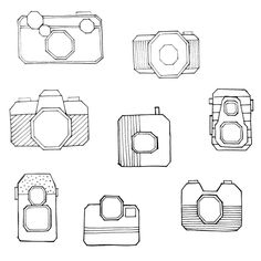 Vintage cameras: some of the new work that's coming up soon! #sweetandmellow