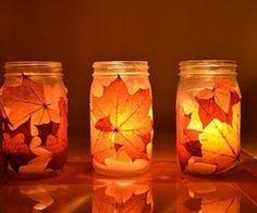 Diy Idea: Fall Jar