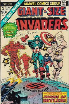 Giant-Size Invaders # 1 by Frank Robbins & John Romita