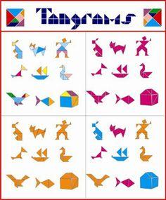 Exemples de Tangrams