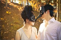 masked lovers. | Flickr - Photo Sharing!