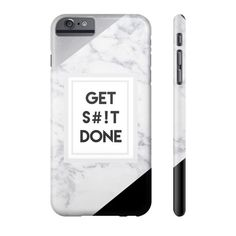 Get Shit Done Marble Phone Case