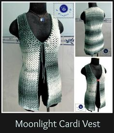 Moonlight Cardi Vest - very unique