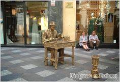 Viagens e Beleza: Estátuas Vivas em Madrid e Barcelona