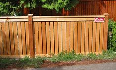 Full Panel Cedar Fence Photo Gallery | Seattle Fence Installer