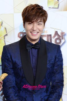 Lee Min Ho Attends The 'SBS Drama Awards 2013' Red Carpet [Dec 31]