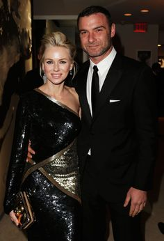 Oscars 2013 Afterparty - Naomi Watts in Pucci and Liev Schreiber