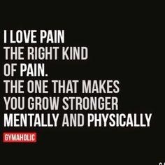 I love pain. www.jek
