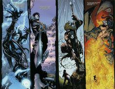 Comic Books Art, Comic Art, Los Kiss, Kiss Art, Hot Band, Scorpio Moon, Comic Panels, Manga Characters, Metalhead