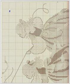 GRAFICOS PUNTO DE CRUZ GRATIS (Relojes, trípticos, damas, etc. Mucho de todo)