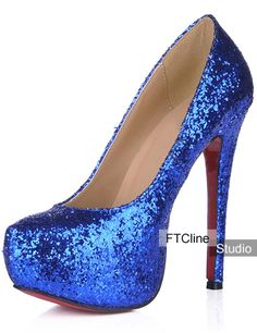 LADIES NAVY BLUE SATIN PLATFORM PEEP TOE SHOES STILETTO HEELS