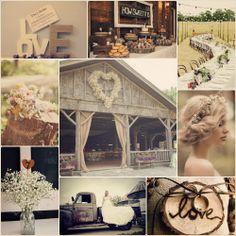 Cómo organizar una boda: estilo rústico <3