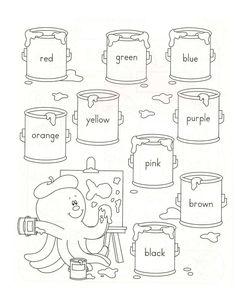 Los colores en inglés
