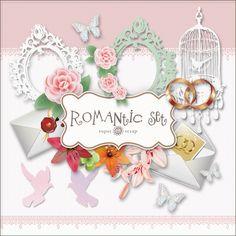 Free Printable Vintage Romantic Kit