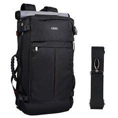 OXA Canvas Travel Backpack Hiking Bag Camping Bag Rucksack