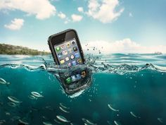 Waterproof iPhone case from   life proof.com