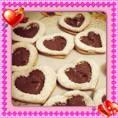 Homemade Valentine cookies!!! ❤️❤️❤️❤️