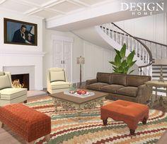 Design Home App, House Design, Oversized Mirror, Furniture, Home Decor, Decoration Home, Room Decor, Home Furnishings, Architecture Design