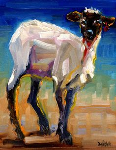 Lamb Sheep by Diane Whitehead--- a little different but I like it a lot!