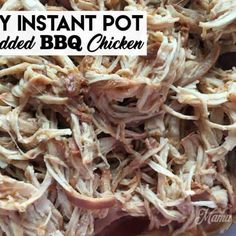Make up this Easy Instant Pot Shredded BBQ Chicken for lunch or dinner - perfect to eat right away or use in meal prepping. Tomato Salsa Recipe, Fresh Tomato Salsa, Shredded Bbq Chicken, Making Hard Boiled Eggs, Dip Recipes, Camping Recipes, Chicken Recipes, Protein Recipes, Healthy Recipes