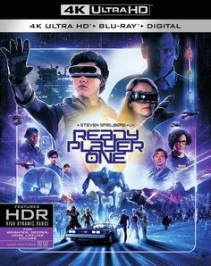 Ready Player One is an American science fiction adventure film. This movie is included in the list of all Hollywood Adventure movies released in The director of this film is Steven Spielberg. Movies To Watch, Good Movies, Olivia Cooke, Ranger, Simon Pegg, Ready Player One, Adventure Movies, Dolby Digital, Steven Spielberg