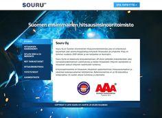 Souru Oy sai uudet kotisivut Kotisivukoneen Avaimet käteen -palvelun avulla.