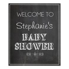 Shop Chalkboard Welcome Baby Shower Sign created by katesdesignco. Bridal Shower Chalkboard, Chalkboard Baby, Bridal Shower Signs, Chalkboard Wedding, Baby Shower Signs, Chalkboard Signs, Chalkboards, Chalkboard Typography, Chalkboard Ideas