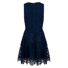Buy French Connection Loving Crochet Dress, Nocturnal Online at johnlewis.com
