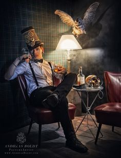 A quiet night in. Dark Beauty, Photo Manipulation, My Images, Character Inspiration, Steampunk, Hipster, Cool Stuff, Model, Pictures