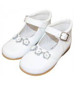 be8378867302 Andanines Girls Shoes - White Baby Girl Shoes
