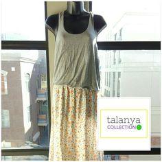 Victoria's Secret casual dress Razor back tank, floral bottom (not forgiving) Victoria's Secret Dresses