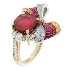 Van Cleef & Arpels Christmas Eve ring, The Nutcracker ballet, Ballet Précieux collection