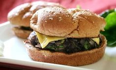 Try the best burger recipes! 35 of the best juicy burger recipes that you will love. Find the best grilled burger recipe from beef, poultry and meatless! There is a burger for everyone! Best Juicy Burger Recipe, Rice Burger Recipe, Best Grilled Burgers, Grilled Burger Recipes, Cooking Light Recipes, Black Bean Burgers, Easy Meals For Kids, Frijoles, Cleanse Recipes