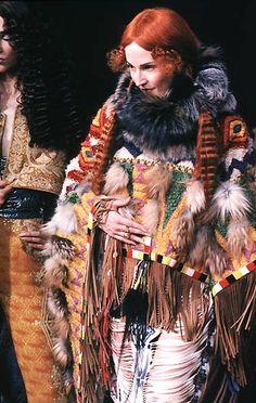 1998-99 - Galliano 4 Dior Couture show - Suzanne Von Aichinger