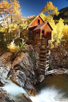 Crystal Mill by Bill Singleton, via 500px; Crystal River, Crystal, Colorado