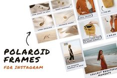 Love it, awesome Graphics #Social media POLAROID FRAMES—POLAROID FRAMES*Made for Instagram*This product will work well with clothing stores, j... #itsmesimon #socialmedia #socialmediamarketing #instagram #insta #marketing #facebook #facebookmarketing #pinterest #pinterestmarketing #twitter #youtube #snapchat #template #photoshop #indesign #story #stories #animated #branding #style Social Media Template, Social Media Design, Social Media Graphics, Polaroid Frame, Youtube Channel Art, Small Drawings, Freelance Graphic Design, Permanent Marker, Instagram Story
