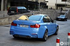 F80 BMW M3 Sedan Spotted Out And About Photo