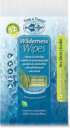 Sea to Summit Wilderness Wipes - REI.com