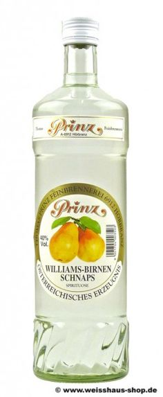 Prinz Williams-Christ-Birne 40% vol. 1l (18,99 €)