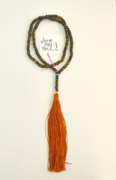 Longhorn Fashions - Burnt Orange Long Tassel Necklace, $75.00 (http://www.longhornfashions.com/burnt-orange-long-tassel-necklace/)