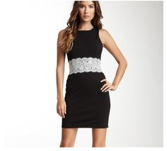 Retail Therapy of St. Augustine- Sleeveless Short Sleeve Dress with Lace Trim Waist Detail