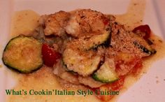 If you like baked fish this will knock it out of the park!   Italiano Style Baked Fish Recipe